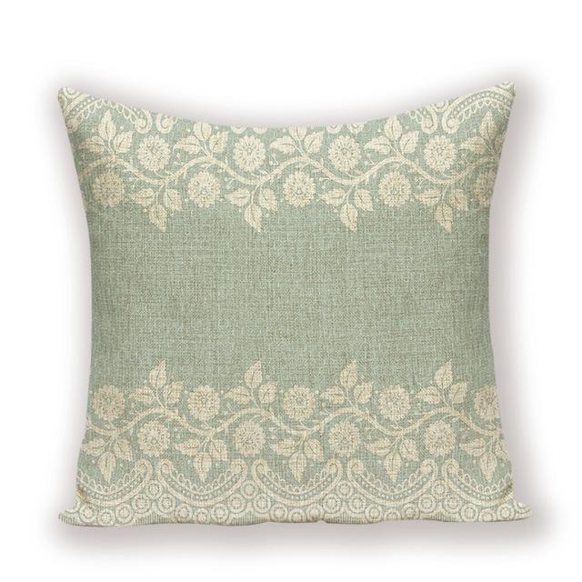 Grand Coussin Shabby Chic | Housse Déco