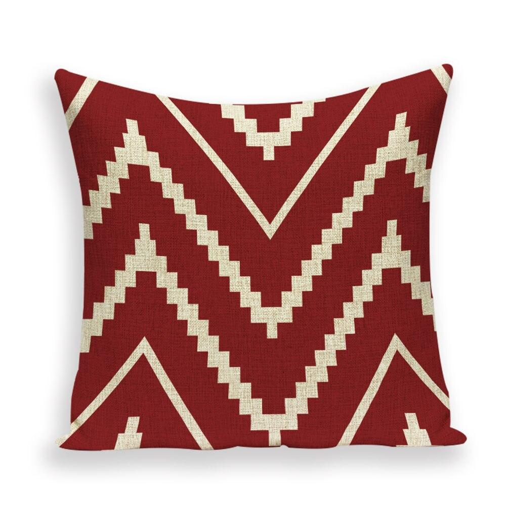 Housse Coussin Rouge