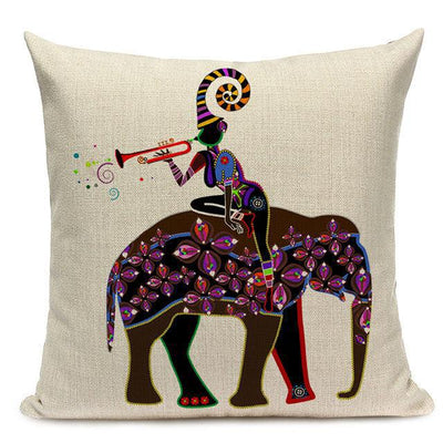 Coussin Style Africain | Housse Déco