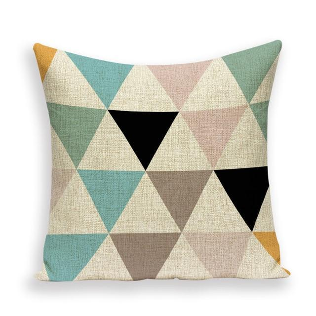 Coussin Scandinave Pastel