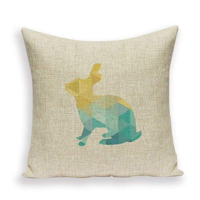 Coussin Scandinave lapin