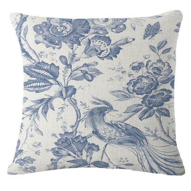 Coussin Tapisserie Vintage