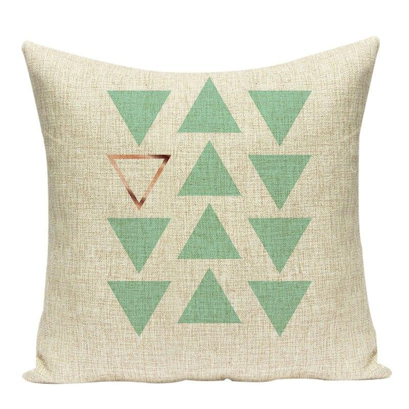 Housse Coussin Design Scandinave