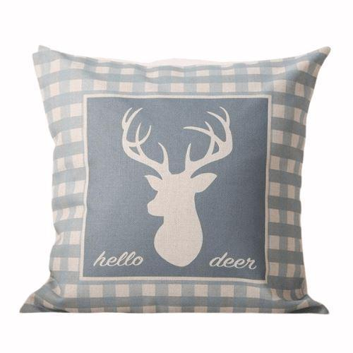 coussin cerf pas cher