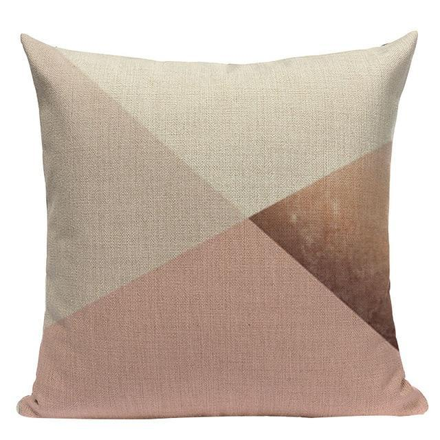 Coussin Scandinave Rose Pale