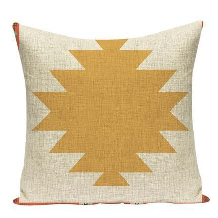 Coussin Tissu Mexicain