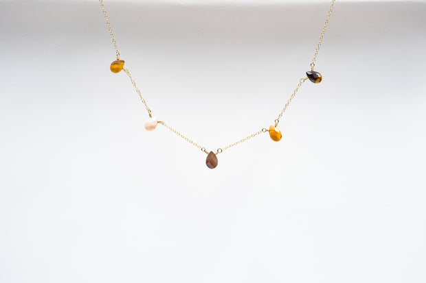 Mookaite Jasper Teardrop Necklace