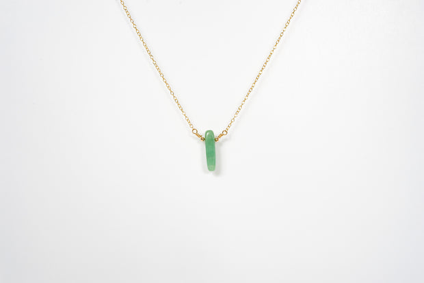 Aventurine Chip Necklace