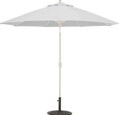 9' Deluxe Auto Tilt Octagon Umbrella