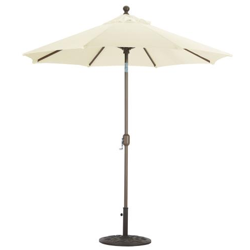 7.5' Deluxe Auto Tilt Octagon Umbrella