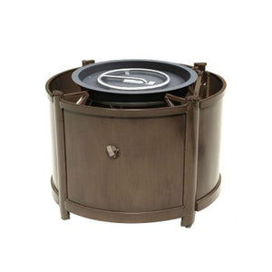 "42""/48''/54'' Elba Round Fire Table Chat Height"