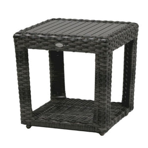Portfino End Table w/ Clear Glass