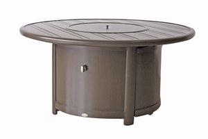 "42""/48''/54'' Elba Round Fire Table Dining Height"