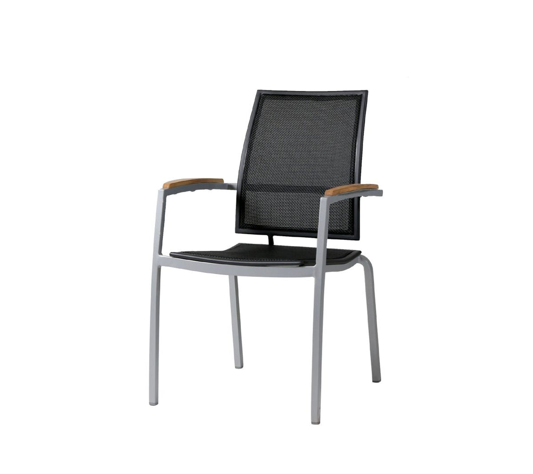 Zunix Sling Dining Arm Chair