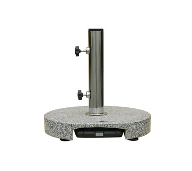 49 lb Granite Base with Wheels & Handles