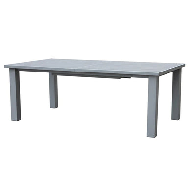 Mezo Extendable Table w/Aluminum Slat Top