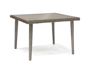 Merida 40' Square Glass Dining Table