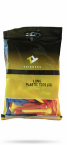 Long Trinders Plastic Tees (30 Pack)