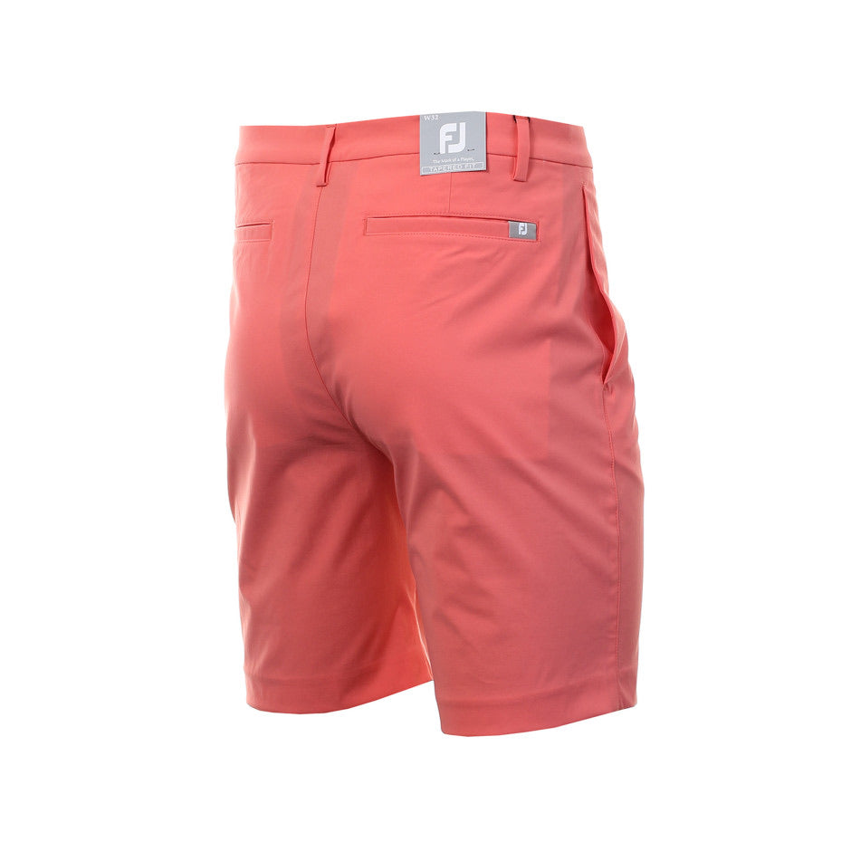 Footjoy Lite Slim Fit Tapered Golf Shorts (Coral)
