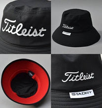 Load image into Gallery viewer, Titleist Stadry Bucket Hat (Black)