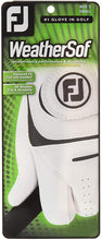Load image into Gallery viewer, FootJoy WeatherSof Glove (mens)