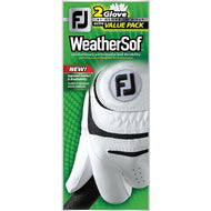 FootJoy WeatherSof 2 Glove Value Pack (mens)