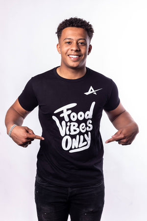 TJB - Food Vibes Only T-Shirt Mannen