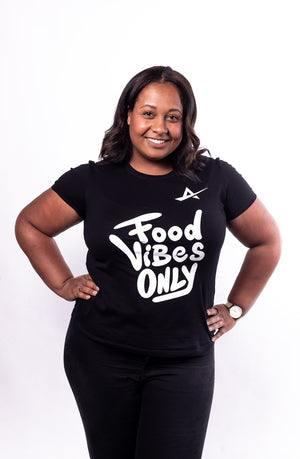 TJB - Food Vibes Only T-Shirt Vrouwen