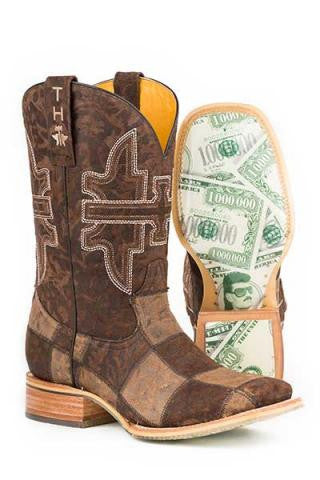 Tin Haul Men's Million Dollar Check Boot