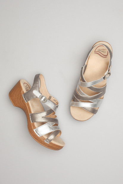 Dansko Stevie Metallic Multi Sandal