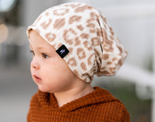 Load image into Gallery viewer, RTS Ivory Cheetah Rib Slouchy