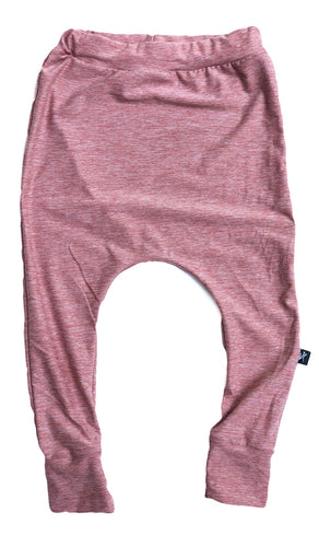 Mauve Pink Heather Joggers