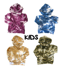 Load image into Gallery viewer, Tie Dye Cowl Hoodie - Kids