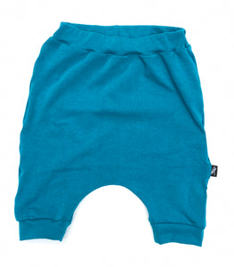 Solid Turquoise Shorts
