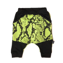 Load image into Gallery viewer, Neon Reptile Kanga Shorts