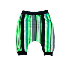 Load image into Gallery viewer, RTS Neon Green Stripe Shorts