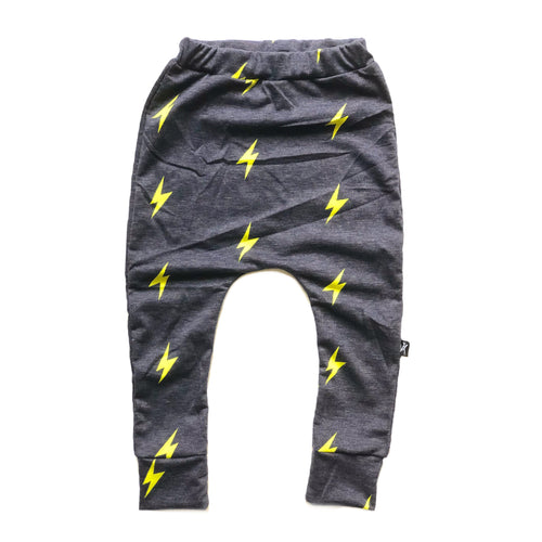 Yellow Navy Bolt Joggers