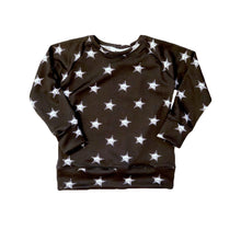 Load image into Gallery viewer, B&W Star Crew Neck