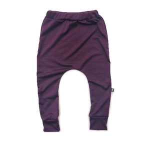 Plum French Terry Joggers