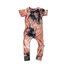 Load image into Gallery viewer, Mauve Tie Dye Romper