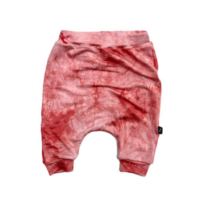 Muted Coral Tie Dye Shorts