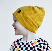Load image into Gallery viewer, RTS Mustard Rib Slouchy