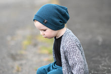 Load image into Gallery viewer, Deep Teal Rib Slouchy