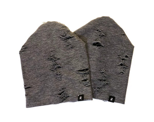 Distressed Charcoal Slouchy