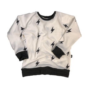 Ivory Bolts Crew Neck