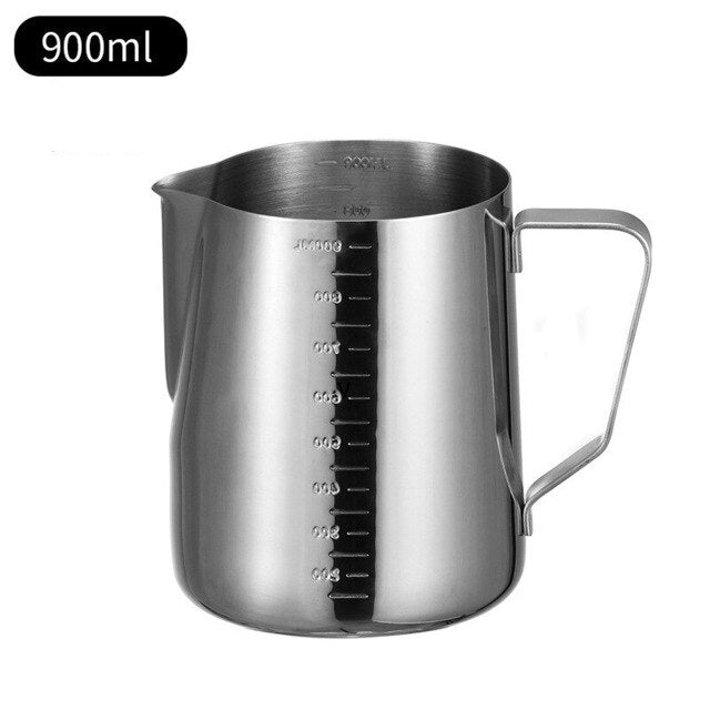 Non Stick  Stainless Steel  Milk Frothing Pitcher Espresso Coffee  Craft Latte  Frothing Jug #25