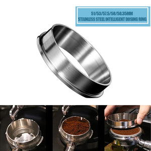 51/53/57.5/58/58.35mm Espresso Barista Stainless Steel Ring
