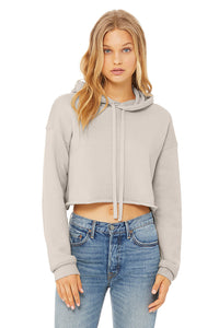 WOMEN'S CROPPED FLEECE HOODIE in 7 different colours