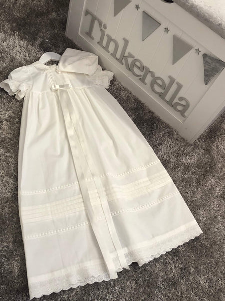 Girls traditional Christening gown