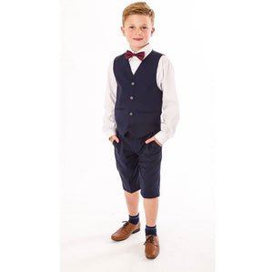 Ring to order- 2 colours available Boys 4 piece shorts suit